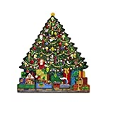 The Carolers Christmas Tree Advent Calendar