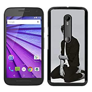 Motorola Moto G 3rd Generation Case ,Louis Tomlinson 1 black Moto G 3rd Gen Cover Fashionable And Unique Custom Designed Phone Case