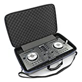 DJ Controller Bag Case For Numark Mixtrack 3, Mixtrack Pro 3 and Mixtrack Platinum All In One DJ Controller Mixer and Cables - Built in Travel Handle W/Impact Resistant Decksaver Protection