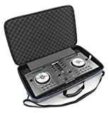 DJ Controller Bag Case For Numark Mixtrack 3 , Mixtrack Pro 3 and Mixtrack Platinum All In One DJ Controller Mixer and Cables - Built in Travel Handle W/ Impact Resistant Decksaver Protection