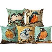 AEROHAVEN™ Set of 5 Velvet Cotton Cushion Covers(CC-38)