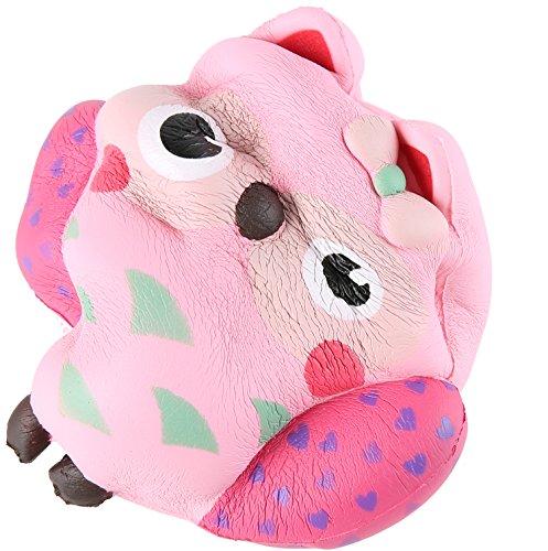 Squishy Owl : Aolige Jumbo Squishy Kawaii Cute Owl Cream Scented Squishies - Import It All