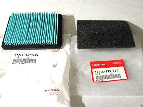 Genuine Honda 17211-ZS9-A02 & 17218-ZS9-A00 Air & Outer Filter For EU3000 EB3000 - Eb3000c Honda
