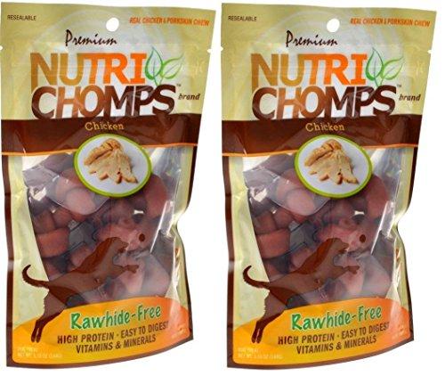 Nutri Chomps Mini Knots Chicken Flavor Dog Chew, 16 Count