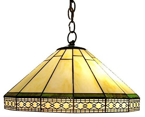 Whse of Tiffany P16257 Tiffany-Style Roman Hanging Lamp