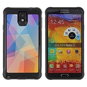 Hybrid Anti-Shock Defend Case for Samsung Galaxy Note 3 / Bicycle Panda wangjiang maoyi by lolosakes