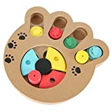 UNAKIM--Paw Interactive Dog Toys Pet Cat Puzzle Toy Treat Dispenser for Dog IQ Training