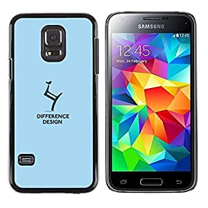 Paccase / SLIM PC / Aliminium Casa Carcasa Funda Case Cover para - difference design - Samsung Galaxy S5 Mini, SM-G800, NOT S5 REGULAR!