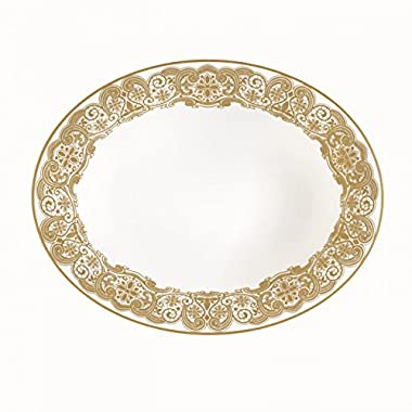 WATERFORD Lismore Lace Gold Vegetable dish 9.5