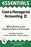 img - for Cost & Managerial Accounting II Essentials (Essentials Study Guides) book / textbook / text book