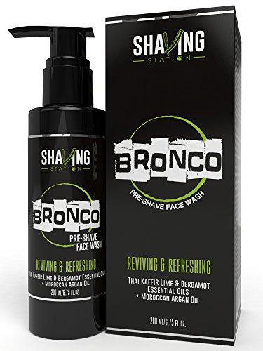 Shaving Station Bronco Pre Shave Face Wash