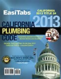 EasiTabs 2013 California Plumbing Code, Title 24 Part 5. Loose-Leaf Tabs, Builder's Book Inc., 1622709802