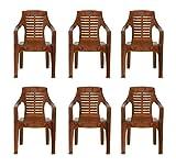 Nilkamal Set of 6 Chairs (Pear Wood)