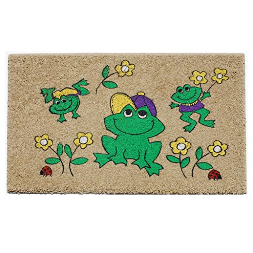 - Home & More 150981827 Frog Graphic Indoor Mat, 18