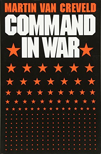 Book cover from Command in War by Martin Van Creveld