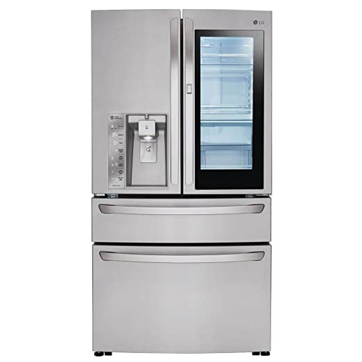 Amazon.com: LG lmxc23796s 23 Cu Ft. Francesa de acero ...