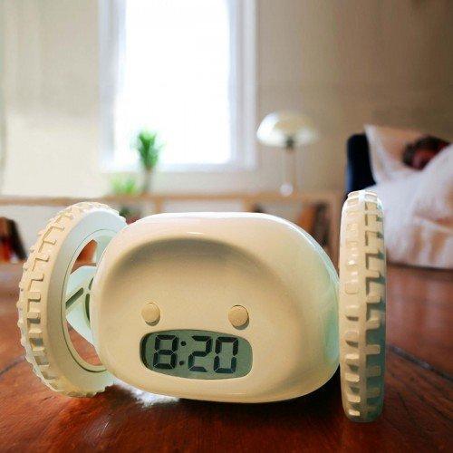 NANDACLOCKY-Nanda-sketch-alarm-clock-alarm-clock-Aqua-japan-import