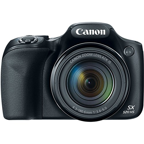 Canon PowerShot SX520 16Digital Camera with 42x Optical Imag