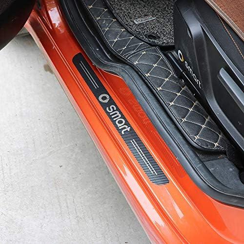 Anti-Dirty Door Entry Aufkleber Einstiegsleiste Einstiegsleisten Sticker Autozubeh/ör Fit f/ür Peugeot 106 108 206 208 306 308 508 2008 3008 107 207 307 ZHANGDAN Auto T/ürschweller Dekoration