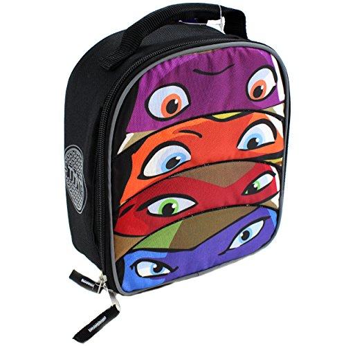 TMNT Teenage Mutant Ninja Turtles Soft Lunch Box (TMNT Masks) (Teenage Mutant Ninja Turtles Eggs compare prices)