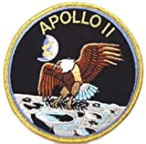 Blue Heron NASA Apollo 11 Mision Patch 4 Embroidered Iron/Sew-on Applique Patch by Blue Heron