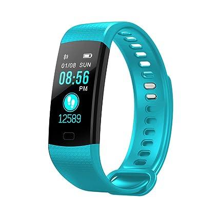 YIGIAO Pulsera Inteligente frecuencia cardíaca, tensiómetro, rastreador de Fitness, Pulsera Inteligente, Impermeable
