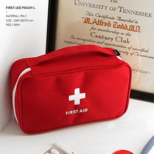 Trousse portable de premiers secours vide, pour la maison 2