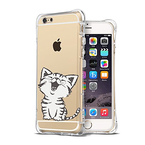 Transparent Shockproof Crystal Cartoon Protective product image