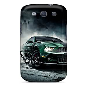 Perfect Hard Phone Covers For Samsung Galaxy S3 With Customized Fashion Ford Mustang Pattern DannyLCHEUNG