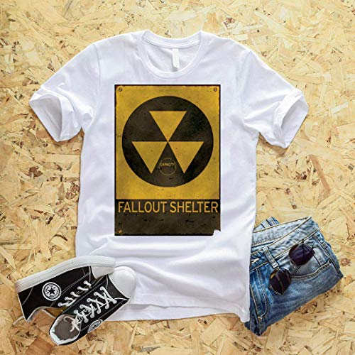FALLOUT SHELTER - OLD & BUSTED TSHIRT GIFT FOR MEN WOMEN KID