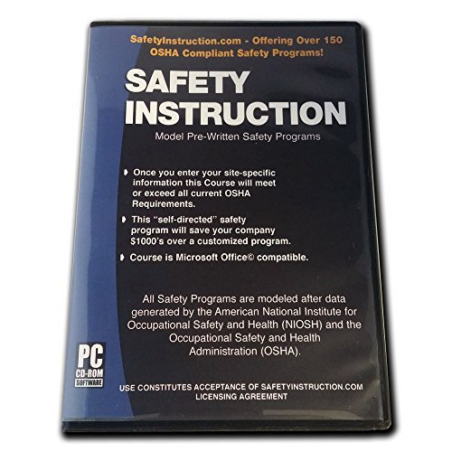 SafetyInstruction.com Aerial Lift and Scissor Lift Written Safety Plan for OSHA Compliance by SafetyInstruction.com