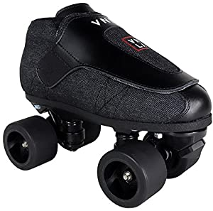 VNLA Stealth Jam Skates - Quad Roller Skates - Indoor Speed Roller Skates - Mens Outdoor Roller Skates Review