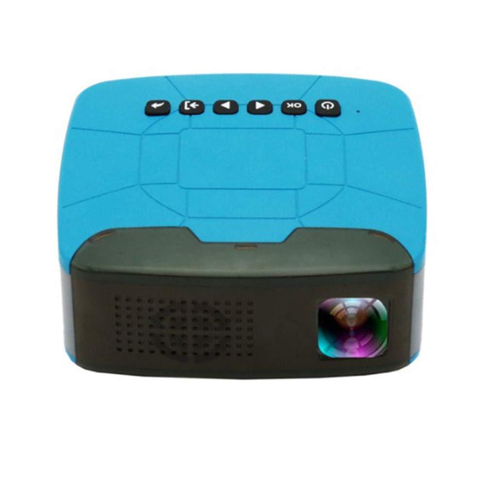 BESTSUGER Proyector de Techo, Mini proyector, 1080P HD Movie ...