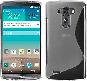 Funda Tpu S-Line LG G3 Color Semitransparente