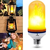 Upgraded 2 Pack LED Flame Effect Light Bulb - Decorative Lights For Indoor/Outdoor/Bar/Hotel Setting - Create The Vintage Atmosphere You've Been Looking For With The Flickering Fire Bulb