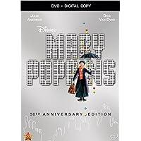 Mary Poppins: 50th Anniversary Edition [DVD + Digital Copy] (Bilingual)