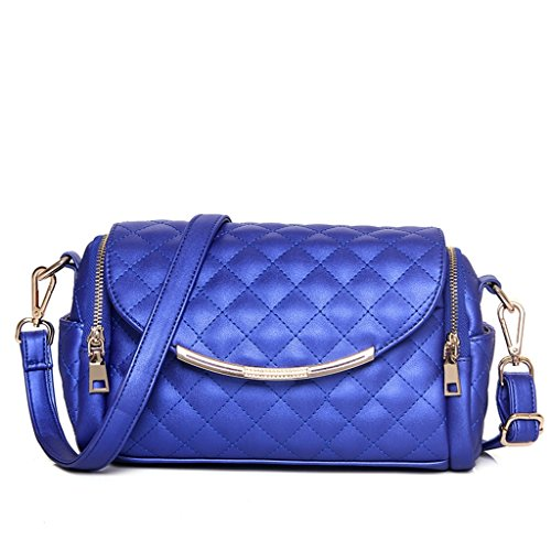 The New European Style Leather Handbags Fashion Trend Temperament Portable Shoulder Bag Killer Package