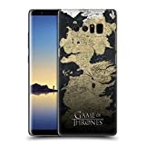 Official HBO Game Of Thrones Westeros Map Key Art Hard Back Case for Samsung Galaxy Note8 / Note 8
