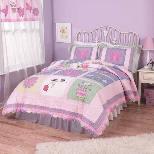 Annas Dream Twin Quilt with Pillow Sham