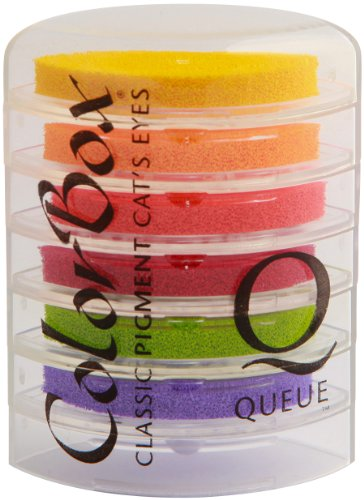 (ColorBox Classic Pigment Queue Ink Pad, Jelly Beans )