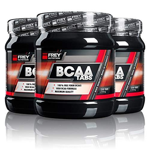Frey Nutrition BCAA Tabs, 3er Pack (3 x 562.5 g)