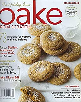 Bake From Scratch Holiday Issues 2018 Cookies Holiday Issue