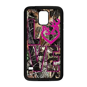 Autumn branch pink love Cell Phone Case for Samsung Galaxy S5