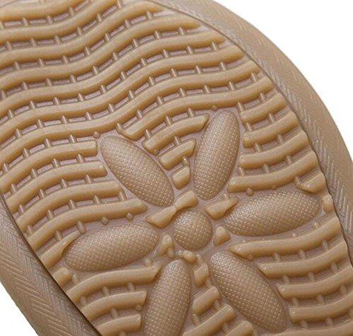 de de inferior Zapatos flor la UK5 de sandalias 5 KUKI Bohemia las femeninas CN38 parte punta EU38 plana de de 5 US7 la 2 ancha 4In7w