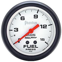 Auto Meter 5813 Phantom Mechanical Fuel Pressure Gauge