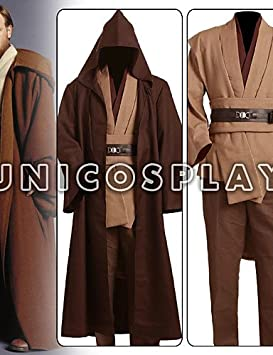 Star Wars Obi Wan Kenobi Jedi TUNIC cosplay disfraz para ...