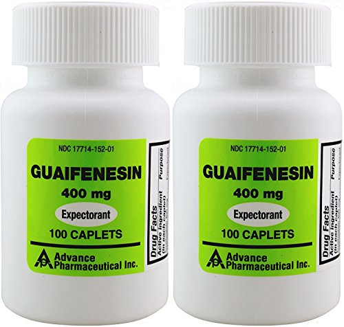 - Mucus Relief Guaifenesin 400 mg 200 Tablets Generic for Mucinex Chest Congestion Immediate Release