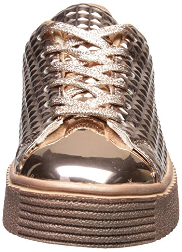 Gold 01 Paisley Sneaker Rose Women''s Qupid qXTwFRS