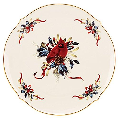 Lenox Winter Greetings Round Platter - Fine China Round Platter