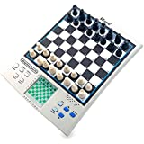 iCore Chess Set, Travel Magnetic Checkers Board, Electronic No Stress Teaching Game for Kids Adults